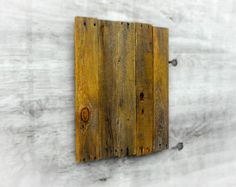 Blank Pallet Wood Panel Plaque Naturally Distressed by ASPauljoy   28