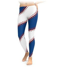 Chicago Baseball Stitch Leggings - Gift for Chicago Cubs Fans Chicago Baseball, Chicago Cubs Fans, Chicago White Sox, Boston Red Sox, Baseball Videos, Funny Baseball, Buster Posey, Derek Jeter, Oakland Athletics
