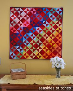 Seaside Stitches: Red IS a Neutral Quilt Block Patterns, Pattern Blocks, Quilt Blocks, Lap Quilts, Scrappy Quilts, Mini Quilts, Purple Christmas, Coastal Christmas, Patchwork Table Runner