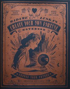 Fortune Teller Inspo - could be the feel of the design to bring in the vintage feel.