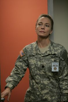 """NCIS Season 5 Episode 3 - """"Ex-File"""" ~ Recurring character Army Lieutenant Colonel Hollis Mann, played by Susanna Thompson"""