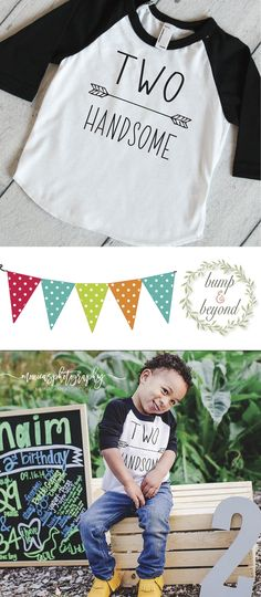 Birthday Shirt for Boys. This birthday boy outfit also makes a great photo prop! We at Bump and Beyond Designs love to help you celebrate life's precious moments! This American Apparel raglan shirt is
