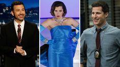 'Jimmy Kimmel Live!' 'Crazy Ex-Girlfriend' and 'Brooklyn Nine-Nine'