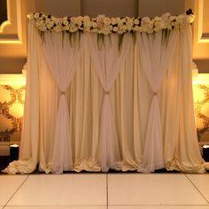 Wedding Reception Backdrop, Wedding Stage Decorations, Backdrop Decorations, Decoration Buffet, Ethiopian Wedding, Backdrop Design, Wedding Background, Indoor Wedding, Backdrops For Parties
