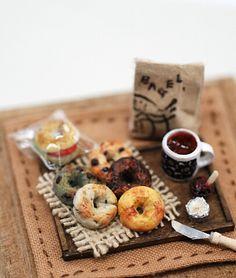 *京橋講座の後半初日* - *Nunu's HouseのミニチュアBlog* 1/12サイズのミニチュアの食べ物、雑貨などの制作blogです。