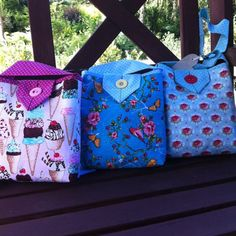 And another new bags from Hola Lotta Summer line Look for HolaLotta on Etsy  #crossbody #purse #fabricbag  #Tote bag,