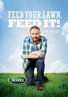 Scotts Fertilizer Guy