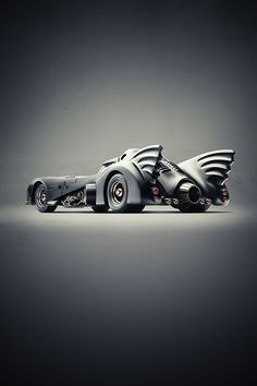 Batmobil by Cihan Ünalan  (via InspireFirst.com 2013/06/25)