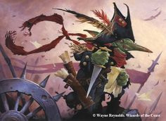 Goblin Spymaster. From Magic the Gathering - Wizards of the Coast, 2016. Art by Wayne Reynolds.