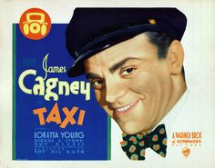 Taxi 1932 Lobby Card James Cagney Loretta Young 6