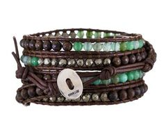 Chan Luu | Green Agate Bead Bracelet in New Bracelets at TWISTonline