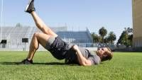 The Single Best Hip Exercise for Men Sports Physical Therapy, Physical Fitness, Hip Exercises For Men, Glute Exercises, Workouts, Barbell Deadlift, Lower Back Problems, Workout Schedule, Hip Workout