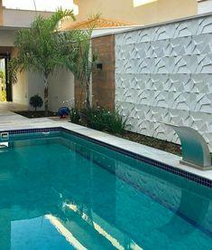 Pool Landscaping, Backyard Pool Designs, Nina Martinelli, Luxury Swimming Pools, Swimming Pools Backyard, Luxury Pools, Modern Patio, Modern Pools, Terrace Garden