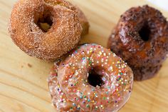 homemade buttermilk doughnuts - if i should ever be brave enough to deep fry something myself
