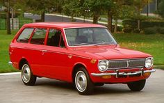 1969 Toyota Corolla Wagon - The absolute worst vehicle I ever owned.