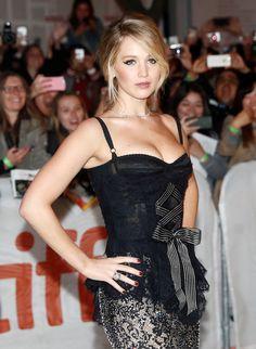 Jennifer Lawrence arrives on the red carpet for the film 'Mother!' at the Toronto International Film Festival (TIFF), in Toronto, Canada, September 10, 2017.