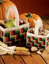 basket plastic canvas patterns