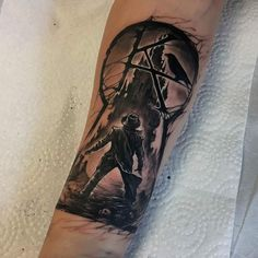 Inspired by several images I got this Dark Tower tattoo yesterday