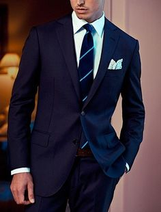 Men's Suit☆Style Business Fashion more mens fashion at Gentleman Mode, Gentleman Style, Mens Fashion Suits, Mens Suits, Men's Fashion, Fashion Check, Fashion Menswear, Fashion Clothes, Sharp Dressed Man