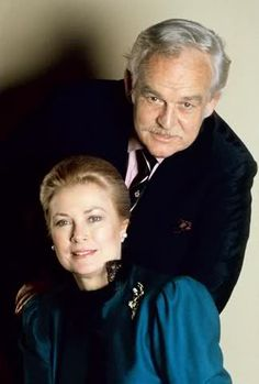 Princess Grace and Prince Rainier of Monaco. Official Portraits - Princely Family of Monaco -