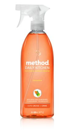 Method All-Purpose Natural Surface Cleaning Spray Clementine - Its time to put the hurt on dirt with this All Purpose Cleaner by Method. Pack a mighty cleaning pu Cleaning Wood, Cleaning Spray, Cleaning Hacks, Cleaning Supplies, Kitchen Cleaning, Method Cleaning Products, Natural Cleaning Products, Method Cleaner, What Is Glass