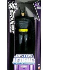 DC Super Heroes: Justice League Unlimited 10-Inch Batman (Purple Box): $96.87 End Date: Saturday May-5-2018 2:18:33 PDT Buy It Now for…