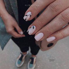 Nude Nails, Manicure And Pedicure, Ten Nails, Minimalist Nails, Dream Nails, Chrome Nails, Stylish Nails, Nails Inspiration, Beauty Nails
