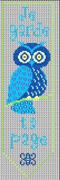 free cross stitch owl