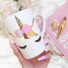 Happy Saturday Unicorns 🦄✨ Daisy Mug now available {link in my bio}