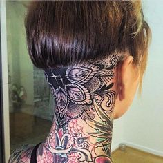 Body – Tattoo's – 35 Awesome Back of the Neck Tattoo Designs.- Body – Tattoo's – 35 Awesome Back of the Neck Tattoo Designs – Way To The Mind nice Body – Tattoo& – 35 Awesome Back of the Neck Tattoo Designs – Way To The Mind - Tattoo Girls, Neck Tattoo For Guys, Girl Tattoos, Tattoos For Guys, Tatoos, Bodysuit Tattoos, Finger Tattoos, Head Tattoos, Body Tattoos