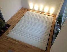 Das Schlafzimmer hinter der Geheimtür - Podestbett Bett,Schlafzimmer Podestbett