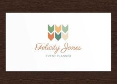 Felicity Jones Event Planner Logo by Bell & Clover Design on Creative Market (http://crtv.mk/j086i)