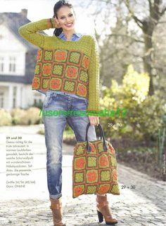 Fabulous Crochet a Little Black Crochet Dress Ideas. Georgeous Crochet a Little Black Crochet Dress Ideas. Crochet Jacket, Crochet Blouse, Crochet Shawl, Crochet Stitches, Crochet Patterns, Pull Crochet, Mode Crochet, Knit Crochet, Crochet Bags