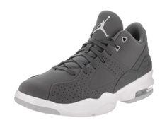 buy online f8324 f7d5a ... reduced nike jordan mens jordan air franchise dk grey dk grey wolf grey  white basketball shoe