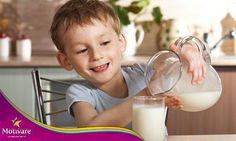 #SabíasQue la leche es una fuente de proteínas, lactosa y vitaminas, principalmente son una fuente importante de calcio. ¡No dejes de incluirla en la alimentación de tu peque!