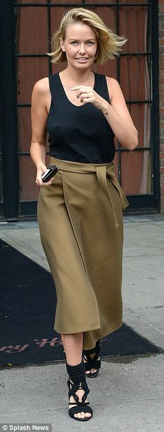 Lara Bingle - In New York City. (September 2014)
