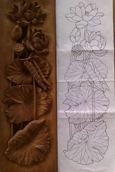 Wood Carving Patterns Ideas 50 Ideas For 2019 Clay Wall Art, Mural Wall Art, Wooden Wall Art, Clay Art, Wood Art, Wood Wood, Wood Carving Designs, Wood Carving Patterns, Wood Carving Art