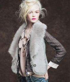 {Fall neutrals + fur}