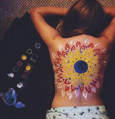 Body art. Beautiful
