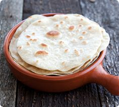 Fresh Flour Tortillas are great with Mexican Pulled Pork and Guacamole. www.annabel-langbein.com