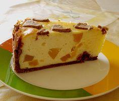 Mascarpone - Pfirsich - Zupfkuchen