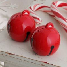 Hallmark Chrstmas 2012 DIR 542 Jingle Bell Salt & Pepper Shaker Set by Imports. $9.50. Jingle Bell Salt & Pepper Shaker Set