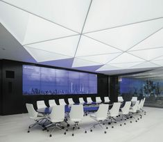 barrisol design plafonnier neon en blanc, dalles 3 d led