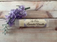 Lavender Vanilla Lip Balm by EvangelineGraceCo on Etsy, $2.00 Donating lip balms for the FFCS swag bags! https://www.etsy.com/shop/EvangelineGraceCo