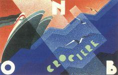By Attilio Calzavara, 1934, Crociere.