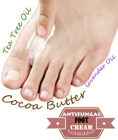 Do it yourself: antifungal foot cream - ABC of Health Natural Antifungal, Herbal Cleanse, Natural Cures, Natural Healing, Natural Beauty, Healing Oils, Foot Cream, Herbal Remedies, Health Remedies