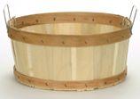 Shallow Half Bushel Flat Bottom Baskets | Shallow Baskets