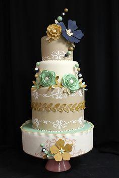 blog.oakleafcakes.com Non Traditional Wedding Cakes