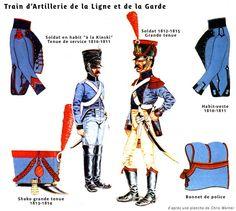 Les cavaliers de la Grande Armée :: Harnais du train d'artillerie et du train des équipages.