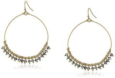 Lonna  Lilly Classics Brass Ox Metallic Drop Earrings -- Be sure to check out this awesome product.